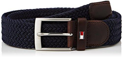 tommy-hilfiger-new-adan-belt-35-cintura-uomo-blu-tommy-navy-110-cm-taglia-produttore-110
