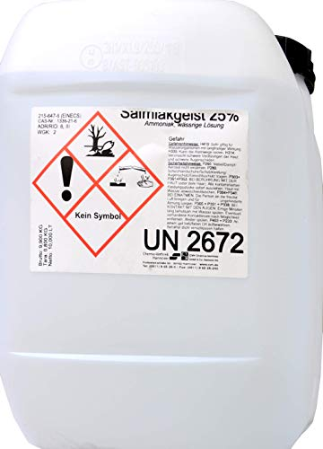 Salmiakgeist Ammoniak-Lösung 25% - technisch -10 Liter -