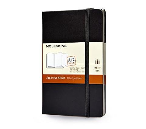 Moleskine Album Japonais Format de poche Couverture rigide noire 9