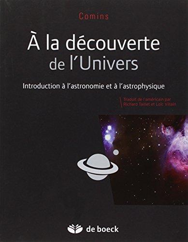 A la dcouverte de l'Univers - Les bases de l'astronomie et de l'astrophysique