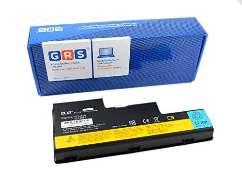 GRS Batterie d'Ordinateur Portable pour Lenovo ThinkPad W700, W700ds, W701ds, remplace : 42T4556, 42T4557, 42T4558, 42T4559, batterie ordinateur portable 6600 mAh, 10,8 V