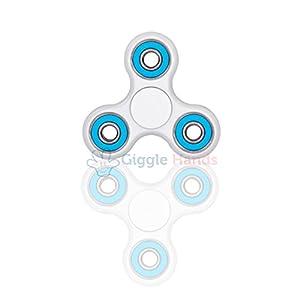 Fidget Hand Spinner Enfant ou Adulte - Roulement en Céramique Si3N4 Haute Vitesse - Tourne 1 Minute - Jeu Sensoriel Tri-Spinner Fidget Toy