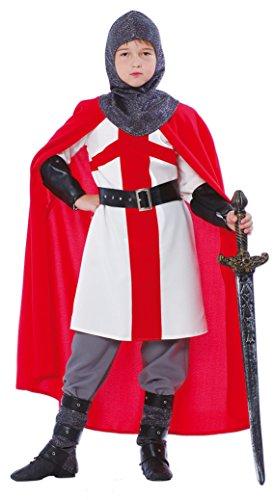 Kreuzzug Ritter - Kostüm für Jungen Gr. 110 - 146, Größe:128/134