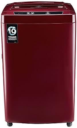 Godrej 6.4 kg Fully-Automatic Top Loading Washing Machine (WTA 640 EI, Autumn Red)