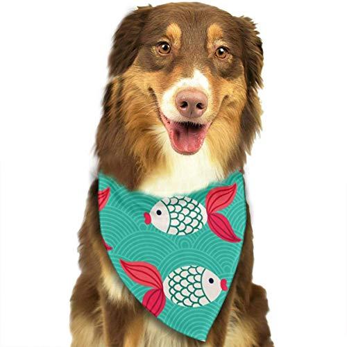 sch Muster Mode Haustier Bandanas Hund Auto Halstuch Für Unisex Pet Junge Mädchen ()