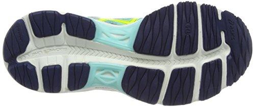 Asics - Gel-cumulus 17, Scarpe da corsa Donna Blu (aqua Mint/flash Yellow/navy 7007)