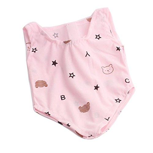 Homyl Puppen Einteiliger Strand Schwimmanzug Bikini Badeanzug Für 18'' American Girl Dolls - Pink - Girl Puppe American Strand Kleidung