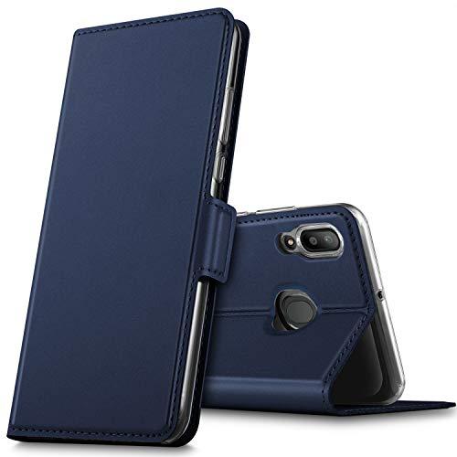 f17d9491461 GEEMAI Diseño para Samsung Galaxy M20 Funda, Protectora PU Funda  Multi-ángulo a Prueba
