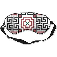 Sleep Eye Mask Tile Pattern Lightweight Soft Blindfold Adjustable Head Strap Eyeshade Travel Eyepatch E12 preisvergleich bei billige-tabletten.eu