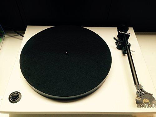 1 Pcs Ultra-dünne Anti-statische Vinyl Plattenspieler Rekord Pad Antistatischen Reduzieren Vibration Flache Weichen Matte Slipmat Matte Pad Hohe Qualität Unterhaltungselektronik