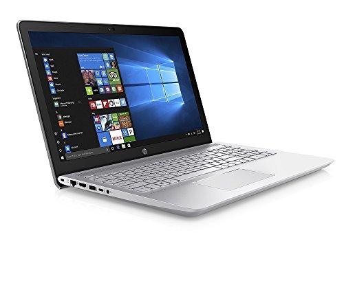 HP Pavilion 15-cc039na 15.6-Inch Laptop - (Mineral Silver) (Intel Core i3-7100U, 8 GB RAM, 256 GB SSD, Intel HD Graphics 620, Windows 10 Home)