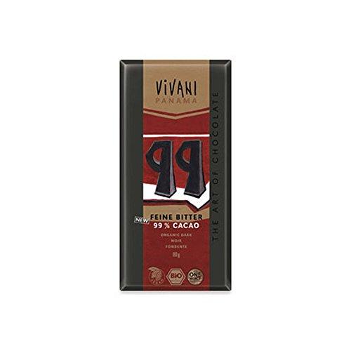 IJSALUT - CHOCOLATE NEGRO 99 % 80GR BIO