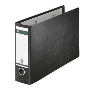 Leitz 10740000 Folder 180 A4 Landscape Cardboard Black