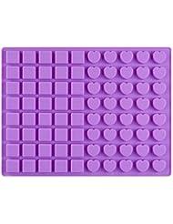Yncc Molde de Silicona ondant decoración de moldes para Hornear de Chocolate Herramienta de Molde (