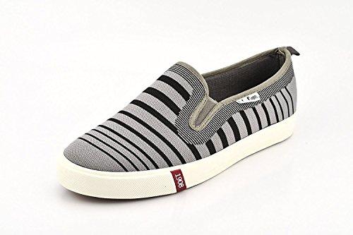 Lee Cooper Mens Grey_Black Nordic Walking Shoes - 9 UK/India (43 EU)(LC3631)