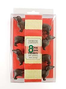 Charcoal Companion CC5009 Hund Mais-Halter, 3,1 x 9,8 x 19,1 cm, braun