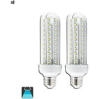Aigostar_ Bombilla LED 19 W (equivalente a 160 W), luz blanca fría (6400K), casquillo E27, 1600lm, Pack de 2 bombillas [Clase de eficiencia energética A]
