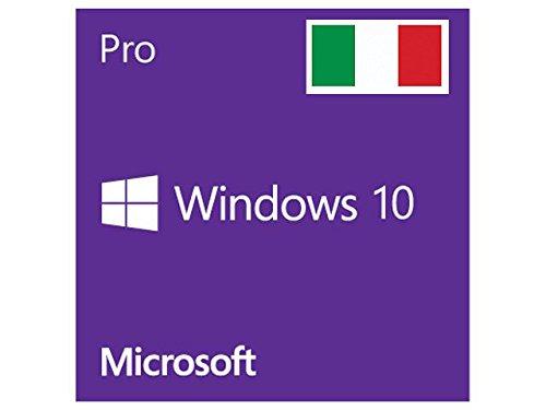 MICROSOFT WINDOWS 10 PRO PROFESSIONAL 32/64 BIT KEY CHIAVE LICENZA ITA MULTILINGUA