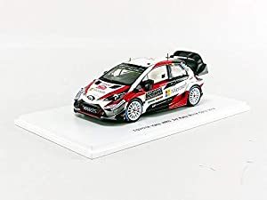SPARK-Coche en Miniatura de colección, S5957, Color Blanco/Negro/Rojo