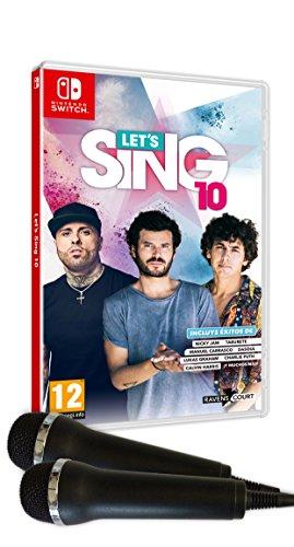 Let's Sing 10 + 2 Micrófonos