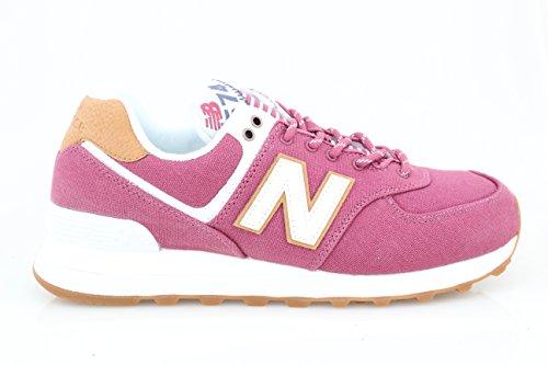 New Balance Wl574v2 Yatch Pack, Zapatillas Para Mujer, Rosa (Dragon Fruit), 37.5 EU