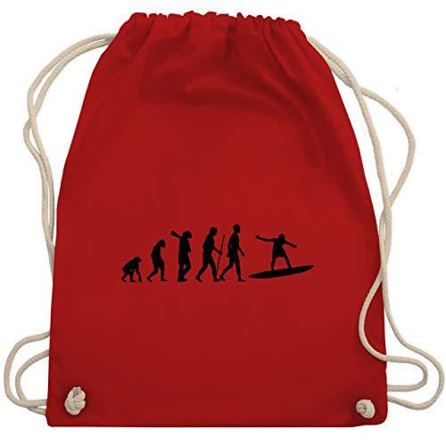 Evolution - Wellenreiter Evolution - Unisize - Rot - WM110 - Turnbeutel & Gym Bag