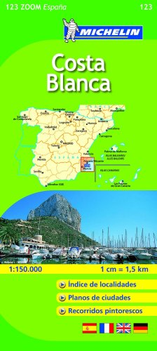 Costa Blanca (Michelín Zoom Mapas) (Mapas Zoom Michelin)