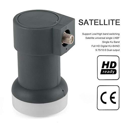 Universal Ku-Band Single LNBF 9.75/10.6KU Dual Output HD Satelliten-Receiver Dual-ku-band