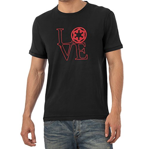 TEXLAB - Empire Love - Herren T-Shirt Schwarz