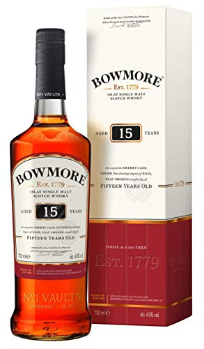 Bowmore 15Y Whisky Darkest Malt - 700ml