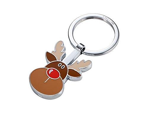 TROIKA RUDOLPH – KR17-16/CH – Schlüsselanhänger – Rentier – Weihnachten