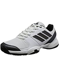 adidas Junior Barricade Club XJ – Zapatillas de tenis, blanco/negro
