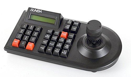 Sunba 3D Keyboard Joystick für analoge CCTV PTZ Dome Kameras, kompatibel mit Mainstream DVR - Mit Ptz Dvr