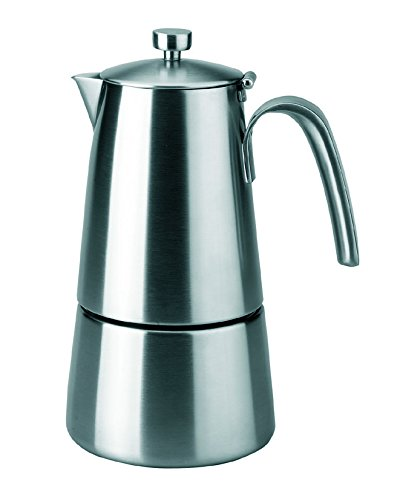 Lacor Express Hyperlux 62211 - Cafetera inoxidable, 10 tazas