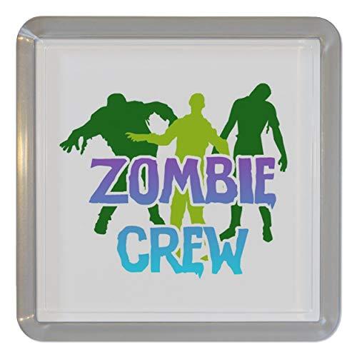 Zombie Crew - Durchsichtigen Kunststoff Teeküstenmotorschiff/Bierdeckel