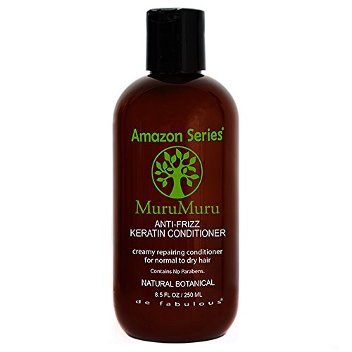 Haar-produkte Frizz (Amazon Series MuruMuru Anti-Frizz Keratin Conditioner (luxurious rich lather for normal to dry hair) Sulfate Free (8.5 fl oz) by de Fabulous)