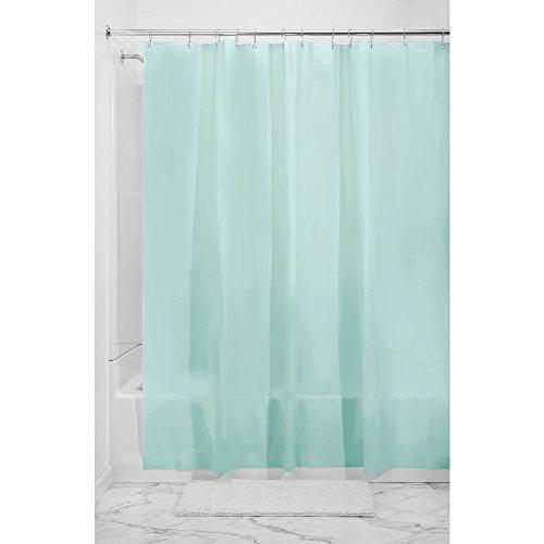InterDesign EVA Liner Forro de cortinas para baño, cortina de ducha antimoho...