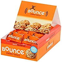Bounce Almond Protein Hit Energy Balls 49 g (Pack of 12)