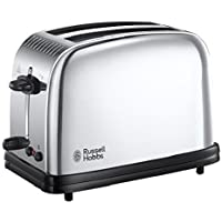 Russell Hobbs Classic Long Slot 2-Slice Toaster 23310 - Stainless Steel Silver