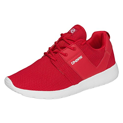 Dangerous DNGRS Uomo Scarpe / Sneaker Mesh Rosso