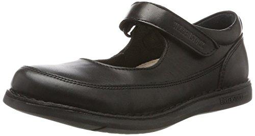 Birkenstock Shoes Mädchen June Mary Jane Halbschuhe, Schwarz (Black), 35 EU (Mary Schwarze Mädchen Janes)