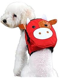 Mochila para Mascotas, Bolsa de Transporte PortáTil Al Aire Libre Bolsa de Viaje Para 5-7.5 kg de Perros Cachorro Gatos por Morwind (E)