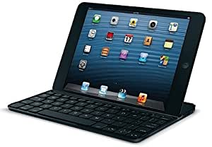 Logitech Ultrathin Keyboard Cover for iPad Mini - Black