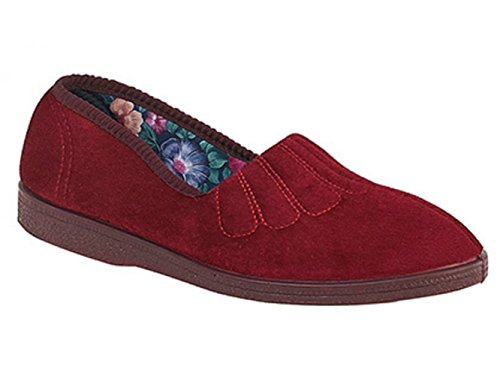 Sleepers, Pantofole donna Rosso Vino Rosso (Vino)