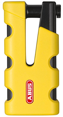 Abus 77 Sledg Grip - Candado para disco de freno, color amarillo