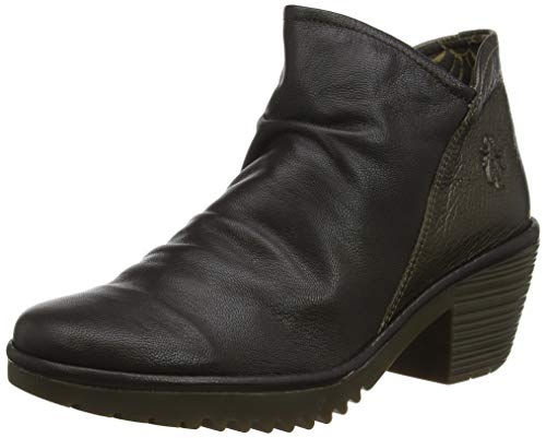 Fly London Wezo890fly, Botines para Mujer, Marrón Chocolate/Coffee 017, 35 EU