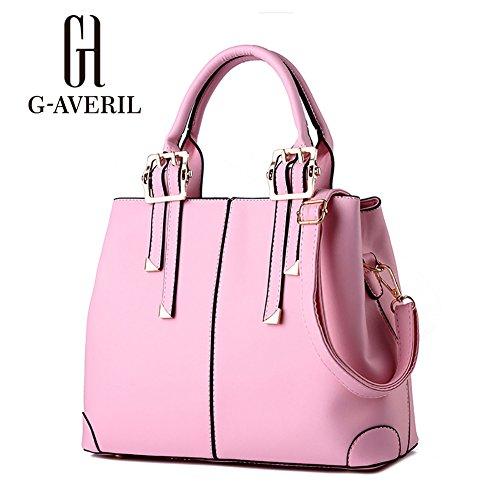 G-AVERIL, Borsa a secchiello donna blu navy Navy Blue Pink
