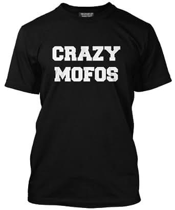 Crazy Mofos T Shirt - Tumblr Fashion Unisex Tee - Various Colours and Sizes XS - 3XL