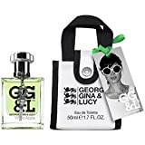 George Gina & Lucy White Apple femme/woman, Eau de Toilette Spray, 50 ml