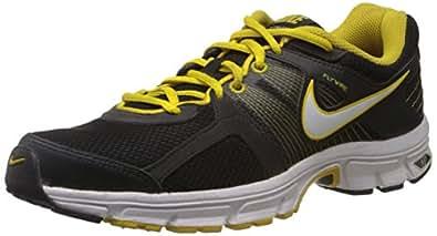 Nike Men's Air Retaliate 2 Black,White,Speed Yellow  Running Shoes -9 UK/India (44 EU)(10 US)